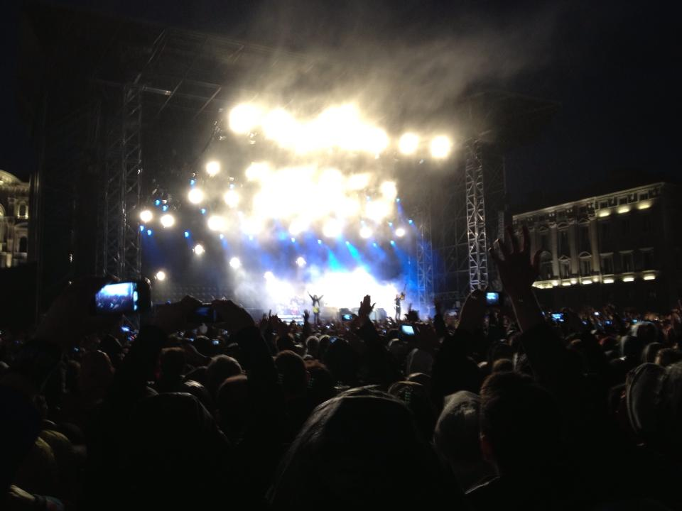 Green Day – 25 Maggio 2013 @ Piazza Unità – Trieste