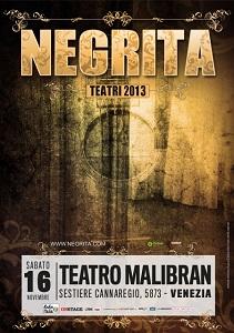 16 nov – Negrita al Teatro Malibran