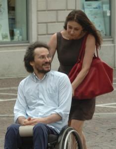 Francesca Archibugi e Pierluigi Cappello © Foto di Romano Martinis