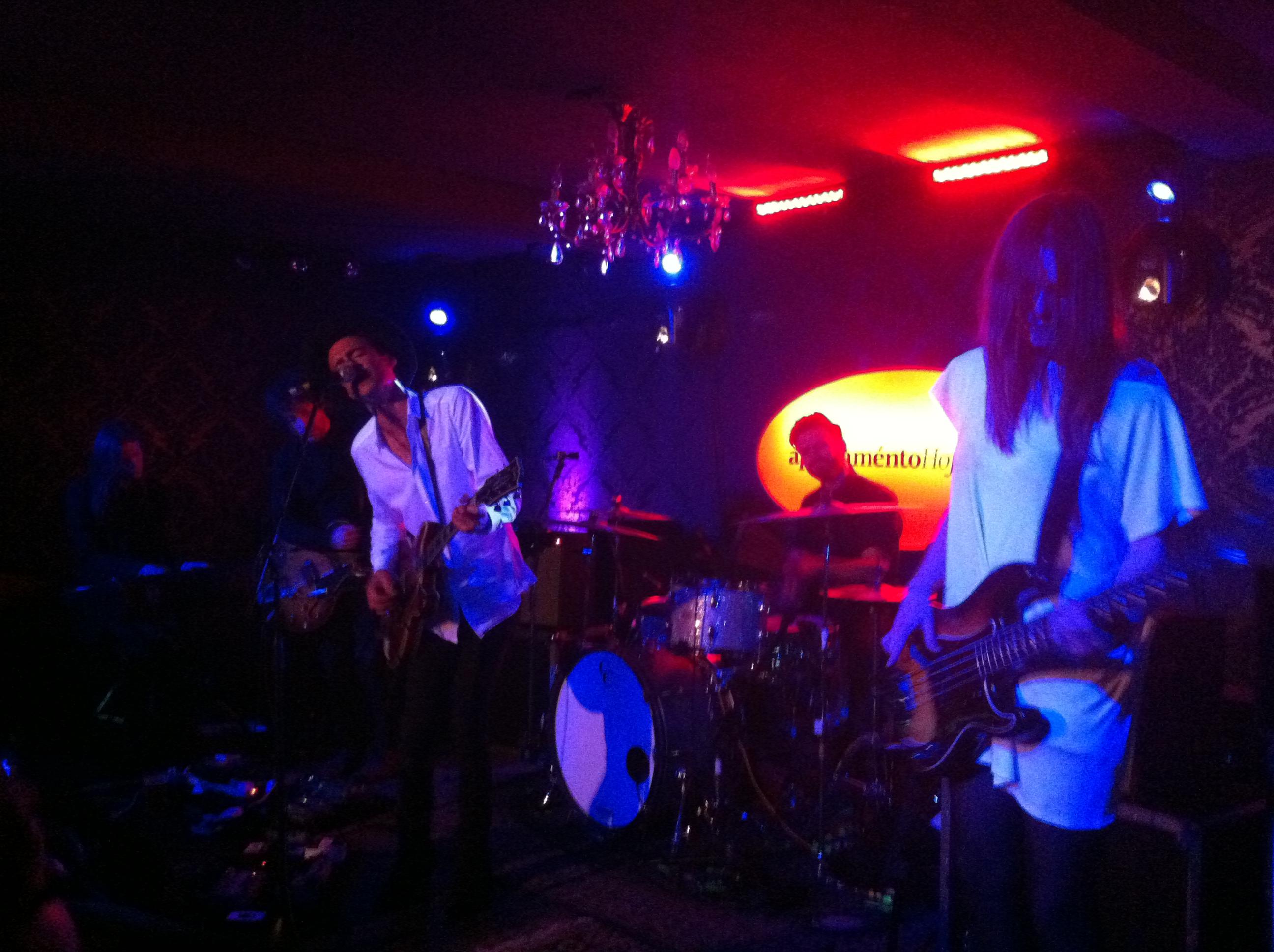 Live – The Veils @ Apartaménto Hoffman Conegliano