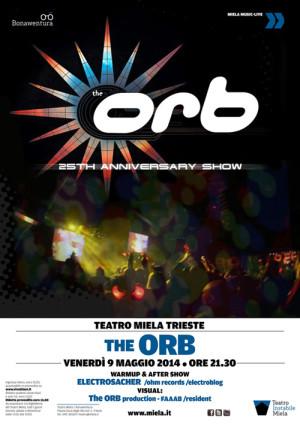 The Orb al Teatro Miela a Trieste – 9 maggio 2014