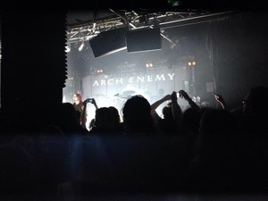 arch enemy new age LIVE