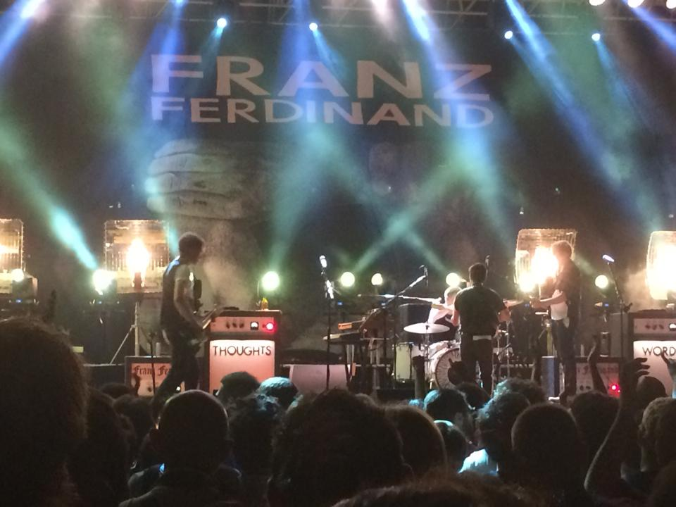Franz Ferdinand – recensione live 31 Luglio – Udine