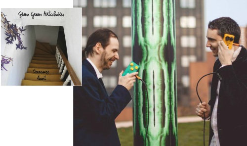 Green Green Artichokes – Treasure Hunt
