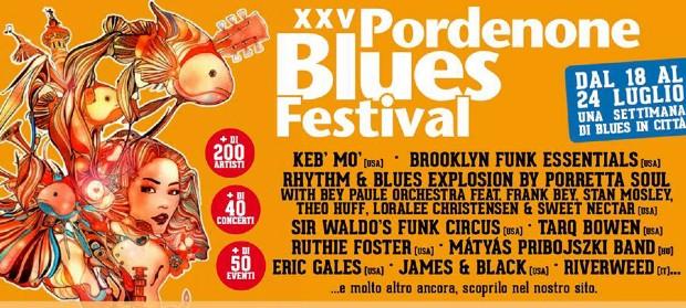 Pordenone Blues Festival – dal 18 al 24 Luglio