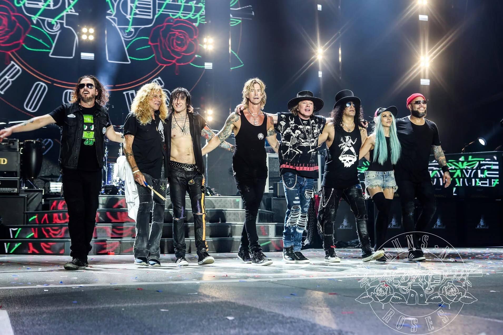 Guns N' Roses : ne vale la pena?