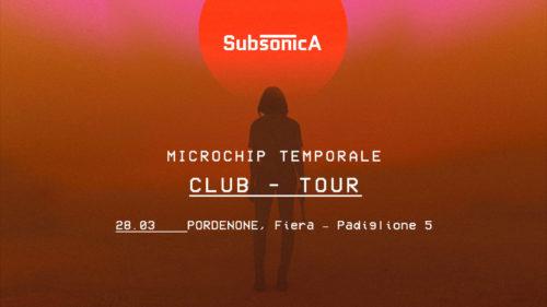 Salta il concerto dei Subsonica a Pordenone?