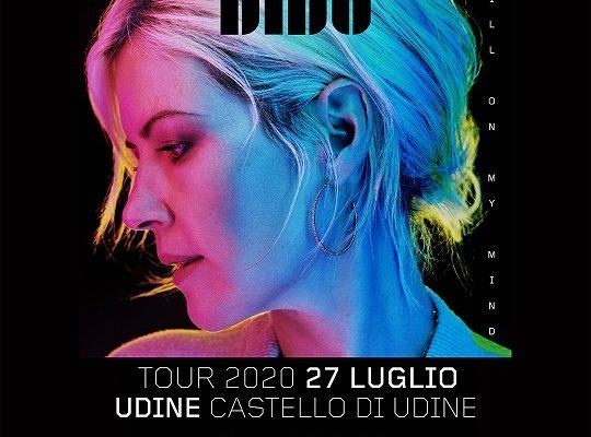 Dido – Udine 27 Luglio 2020